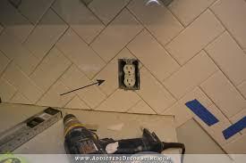 How To Install A Herringbone Subway Tile Backsplash - Herringbone tile backsplash