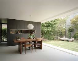 Modern Minimalist Japanese House Design Niwanosumika Modern - Japanese modern interior design