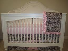 Pink Cheetah Crib Bedding Pink Leopard Baby Bedding Set 3 Crib Bedding Set No Bumper