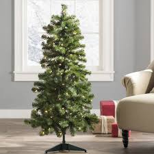 awesome picture of artificial tree without lights
