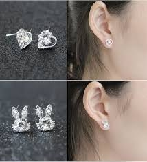 earrings brand wlp brand jewelry moon bow earring 2017 fashion brand