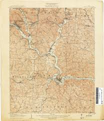 Lake Vermilion Map Ohio Historical Topographic Maps Perry Castañeda Map Collection