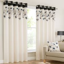 Drapery Panels With Grommets Mirabel Lily Floral Luxury Curtain Panels With Grommets And