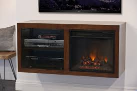 Mid Century Modern Electric Fireplace by Floating Electric Fireplace Tv Stand Eco Geo Mocha Woodwaves
