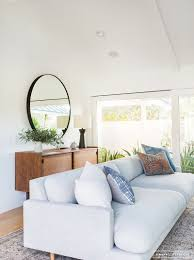 Mid Century Modern Living Room by A Minimalist Mid Century Home Tour Mid Century Minimalist And