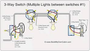wiring 3 way switch with multiple outlets home improvement