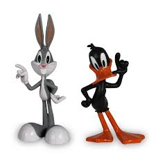 amazon looney tunes show figures bugs bunny daffy