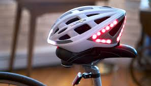 Motorcycle Helmet Lights Lumos Helmet Keeps Cyclists Safe With Automatic Brake Lights