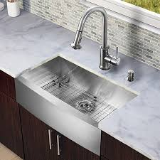 Kitchen Sink With Faucet Set Six Stylish Twists On The Classic Apron Sink