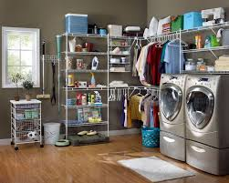 Laundry Cabinet With Hanging Rod Laundry Room Ideas With Top Load Washer And Dryer Utility Room