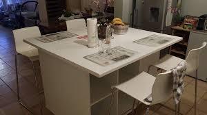 table de cuisine sur mesure ikea un ilot de cuisine moderne pas cher bidouilles ikea