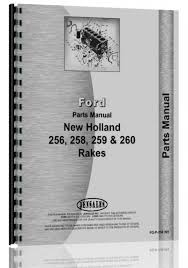 new holland 256 rake parts manual new holland manuals