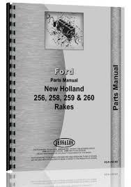 new holland 256 rake parts manual new holland manuals