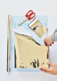 Magazine Wall Art Diy by Diy Metallic Magazine Files