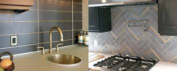 metal backsplashes for kitchens top 50 best metal backsplash ideas kitchen interior designs
