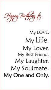 birthday quotes boyfriend fiance husband birthday card by