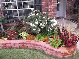 flower beds for our big tree in the backyard description from