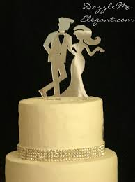 and groom wedding cake toppers chic and groom cake topper wedding cake topper