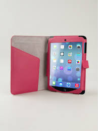 Design Gadgets Smythson Ipad Mini Case Fuchsia Panama Women Lifestyle Phone