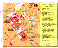 European Time Zone Map by Barcelona Gothic Quarter Map Tourist Attractions New Zone