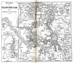 Maps Of United States by 1up Travel Historical Maps Of United States Yellowstone National