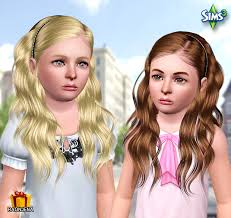 childs hairstyles sims 4 my sims 3 blog raon hair 34 for females