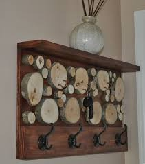 rustic wood coat racks 17 diy stylish ideas