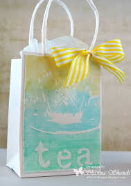 tea bag party favors tea party favor bags the crafter s workshop
