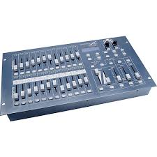 dmx light board controller chauvet dj stage designer 50 dmx lighting controller musician s friend