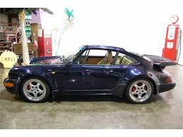 purple porsche 911 turbo 1993 porsche 911 turbo for sale classiccars com cc 1048952