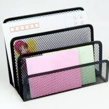 Wire Mesh Desk Accessories by 6 Pcs Of Set Metal Mesh Office Desktop Organizer File Tray Pencil