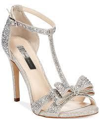 wedding shoes macys i n c women s reesie rhinestone bow evening sandals created for