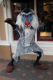 Lion King Halloween Costumes Coolest Homemade Rafiki Costume Lion King Lion King