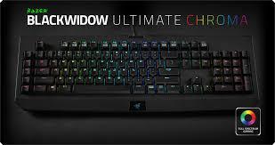 razer black friday razer blackwidow chroma rgb mechanical gaming keyboard razer
