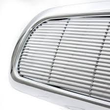 dodge dakota black grill dodge dakota 1997 2004 chrome billet grille a101ffzt150