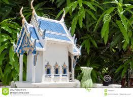 Thai Homes Thai Spirit House 02 Stock Photos Image 25029673