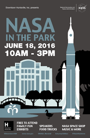date announced for 2016 nasa in the park nasa