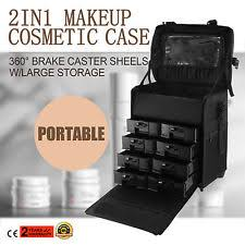 Professional Makeup Artist Organizer Salon U0026 Spa Rolling Makeup Cases Ebay