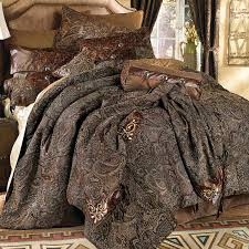 western bedding king size western paisley beaumont bed set lone