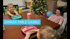 christmas day dinner table games playing games at the table day 76 of 365 youtube