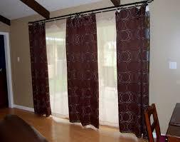 Curtain Patio Door Curtain Door Panel Curtains Light Filtering Patio Door Curtains