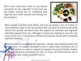 natural hair growth stimulants herbs that stimulate hair regrowth