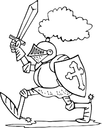 knight armor free coloring page wecoloringpage
