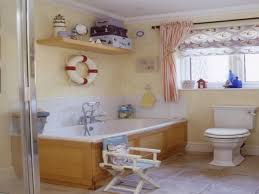 Nautical Bathroom Decor by Beach Bathroom Decor Beach Bathroom Decorating 4 Bathroom