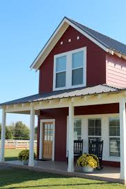 126 best country farmhouse porches images on pinterest country life in a little red farmhouse