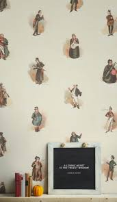 introducing our classic literature wallpaper collection murals dickens wallpaper charles dickens wallpaper mural