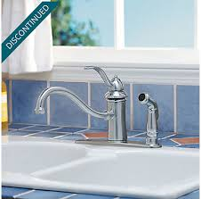 price pfister gt34 3tss marielle satin stainless one stainless steel marielle 1 handle kitchen faucet gt34 3tss