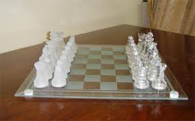Unique Chess Pieces Glass Chess Set Manufacturer India Glass Chess Set Exporter India