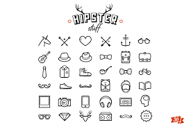 hipster icon design by noka studio on creative market tattoo