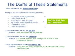 writing a good thesis statement ppt video online download